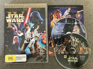 Star Wars - A NEW HOPE - Episode IV  Limited Edition DVD 2-Disc