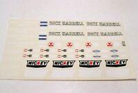 Vintage 1:24 Model Car Decal Sheet Drag Race Dick Harrell Nickey Chevrolet