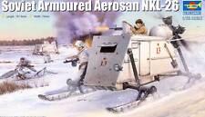 Trumpeter - Russian Soviet Armoured Aerosan NKL-26 Modell- Bausatz 1:35 tipp kit