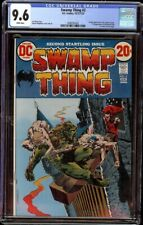 Swamp Thing # 2 CGC 9.6 White (DC, 1972) 1st Dr. Arcane, Wrightson cover