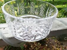 "A Super Stylish Waterford Crystal 7"" Salad / Fruit / Trifle Bowl"