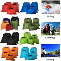 5X Outdoor Dry Bags Rafting Boating Kayaking Camping Hiking Waterproof Bag a b