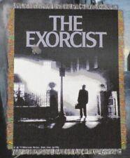 New The Exorcist Throw Gift Blanket Creepy Horror Movie Poster Thriller Film NIP