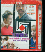 Burn After Reading Japanese Import Brad Pitt George Clooney DVD New