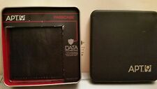 Men's Apt. 9® RFID-Blocking Black Passcase Wallet NWT & Gift Tin, MSRP $28.00