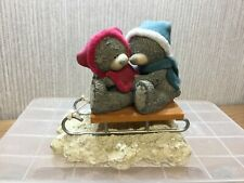 Me To You Bear Figurine Ornament Tatty Teddy Collectables now Ride Together