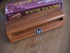 New ListingLatin Percussion Lp684 Small Groove Block - New In Carton!