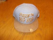 NEU NEW Era Music Pack Hip Hop Unisex -Sorry I,m Hip Hop