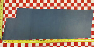 """HORWEEN TROPICAL BLUE TUMBLED ESSEX 4.5 oz. LEATHER 27""""x9"""" NAT. QLTY"""