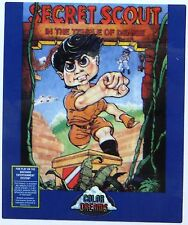Secret Scout in the Temple of Demise Replacement Label [Color Dreams] [NES]