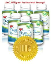 6 Bottles KRILL OIL MEGA 360 Softgels Professional Extra Red Strength