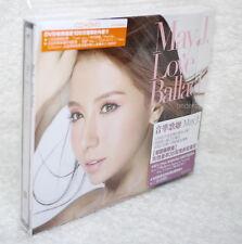 MAY J Love Ballad Taiwan Ltd CD+DVD+36P booklet (ft. V.I FROM BIGBANG)