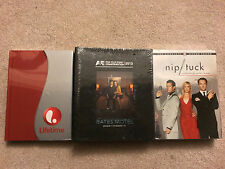 NEW SEALED - LOT OF 3 DVD sets: Includes Duck Dynasty S2, Nip Tuck S2
