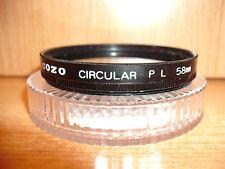 Con montante COZO circolare 58 mm Filtro P L (25A13)