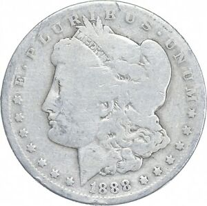 Early - 1888-O Morgan Silver Dollar - 90% US Coin *174