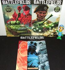 "GARTH ENNIS BATTLEFIELDS ""THE TANKIES"" 3 BOOK SET COMPLETE VOL 1 + V5 & V7 NEW"