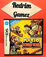 Mario vs Donkey Kong DS Video Games