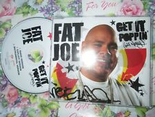 Fat Joe ‎– Get It Poppin'  Atlantic Records PR015422 Promo UK CD Maxi-Single