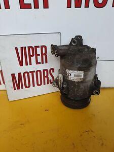 Vauxhall Zafira B 1.6 1.8 A16XER A18XER AC Air Con Compressor Pump 13322147 KS4