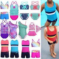Toddler Baby Kids Girl Floral Bikini Set Swimsuit Swimwear Bathing Suit Swimming