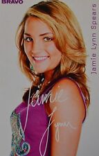 Jamie Lynn spears-AUTOGRAPHE CARTE-Autograph Autographe fan collection captures