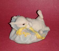 1981 AYNSLEY Signed Mastercraft Bunny Rabbit Sculpture Figurine