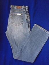 Vintage Classic 1980's Calvin Klein Ladies Blue Denim Jeans Faded Bootcut Size 8