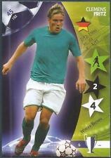 PANINI UEFA CHAMPIONS LEAGUE 2007- #045-WERDER BREMEN-CLEMENS FRITZ