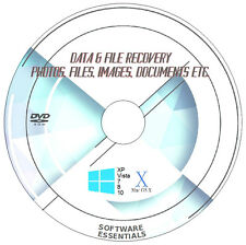 Recover Undelete Lost Files Data Music Photos Software Recovery PC DVD ROM