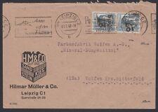 GERMANY, 1948. Soviet Zone Cover 27 Leipzig, Leipzig