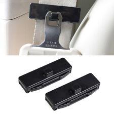 2PCS Car Seat Belt Adjusting Tension Clips Width 53mm Locking Stopper Safety Kit