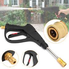 16MPa High Pressure Washer Spray Gun Lance Car Clean Long Wand 3/8 Quick Connect