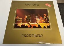 LP DEEP PURPLE MADE IN JAPAN ANNO 1972 HARD ROCK ITALY PRESS COVER F OUT 2 LP