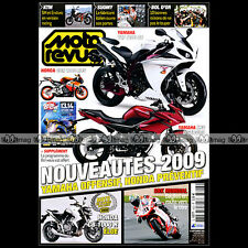 MOTO REVUE N°3823-b HONDA CB 1000 R ★ YAMAHA YZF R1 ★ PROGRAMME BOL D'OR 2008 ★