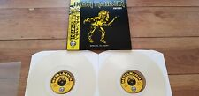 IRON MAIDEN - XMAS 80 - GREAT NEW 2LP LIVE LONDON 21/12/80 CLEAR WAX + OBI MINT