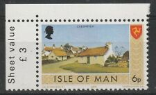 ISLE OF MAN 1973 ISLAND VIEWS 6p COMMEMORATIVE STAMP VARIETY MATT GUM MNH