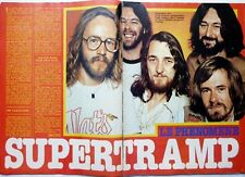 SUPERTRAMP => 2 pages 1979 FRENCH CLIPPING + 1 PAGE AMII STEWART