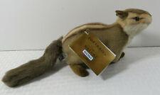 Hansa Chipmunk Pocket Gopher Plush Stuffed Animal Portraits of Nature NEW NWT