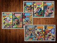 Lot of 9 Wonder Women #312-320 Straight Run *ALL NM*  Beautiful Set See Listing!