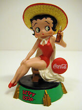 BETTY BOOP Coca Cola Premiere Edition Figurine 3555 of 4800 Pieces Year 2000