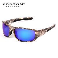 Mens Fishing Cycling Golf Polarized Sport Sunglasses Camo Camouflage Sunglasses