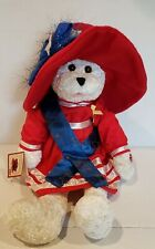 """Chantilly Lane Musical Bear 22"""" Betsy Sings """"God Bless America"""" Moving WORKS!"""