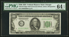 Fr. 2152-G dgs 1934 $100 One HUNDRED Dollar CHICAGO Federal Reserve Note EPQ!