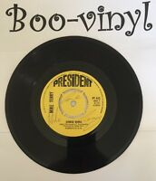 """MIKE TERRY AUTOGRAPHED Zorbas Dance 7"""" B/w Victoria Roll President Ex Con"""