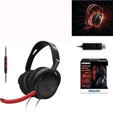 Philips SHG7980 PC Gaming Headset Adjustable microphone USB GENUINE