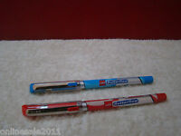 10x Cello Butterflow Ballpoint Pen 5 Red Ink+ 5 Blue Ink Pen Lot of 10 Free Ship