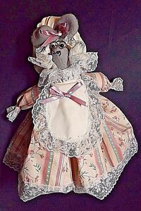 DOORMOUSE DOORSTOP COUNTRY MOUSE DRESSED 11 INCHES HIGH