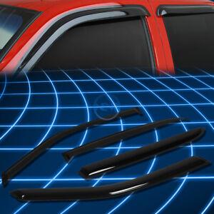 Tint Tape-on Window Visor Wind Sun Rain Deflector for 2000-2005 Cadillac Deville