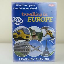 Tactic Travelling in Europe Card Game  Learn by Playing BRAND NEW & SEALED