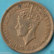British West Africa - 1938  - King George VI. - 6 Pence Münze